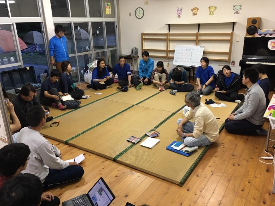 美里ボランティアセンターの定例ミーティング