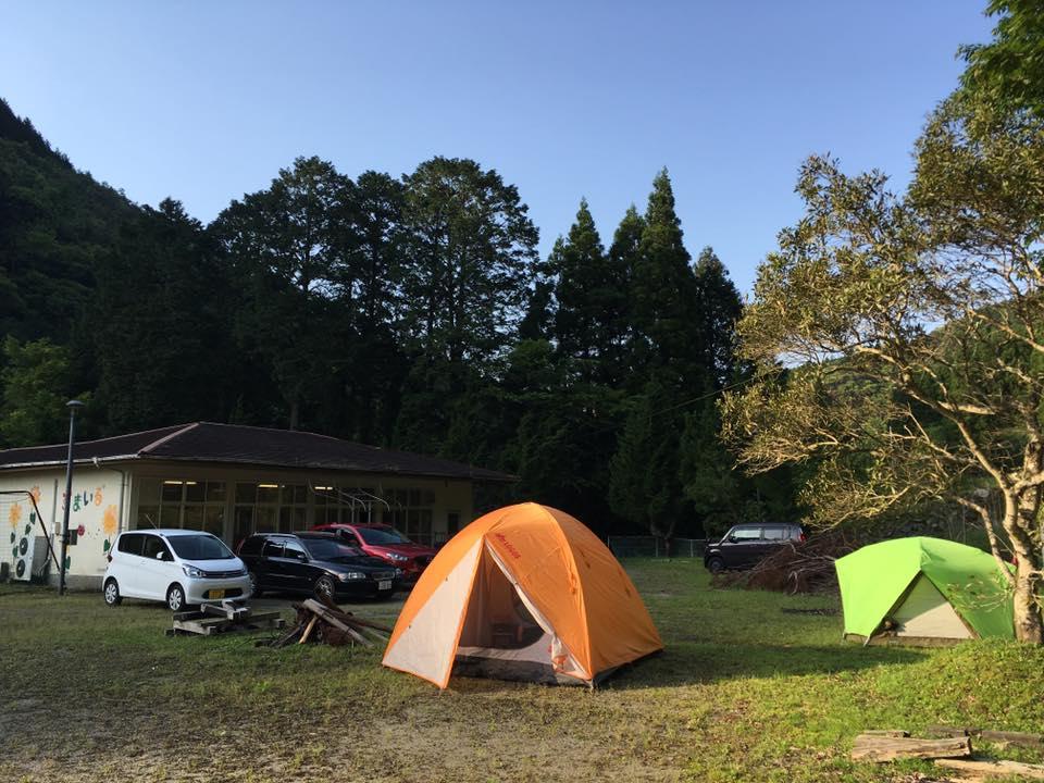 RQ九州美里ボランティアセンターのミーティングスペース